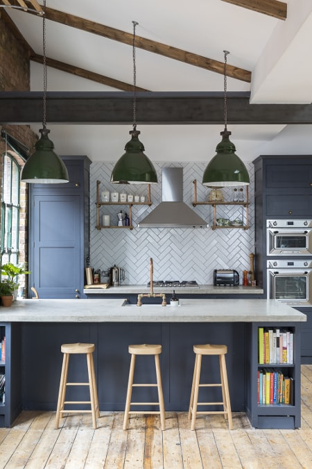ShoreditchPenthouseLondonRenovationRefurbishmentKitchenIsland-scaled-min