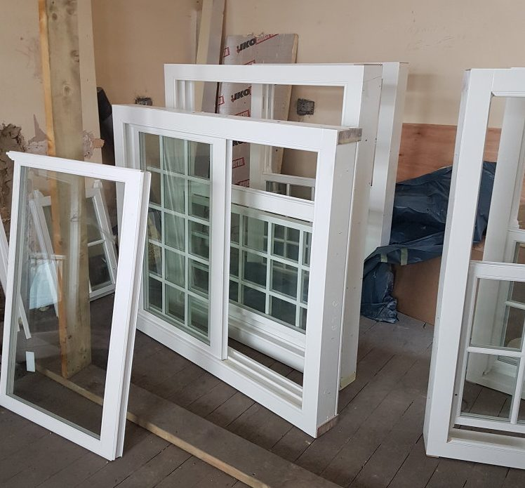 selection of timber sash windows for conservation areas