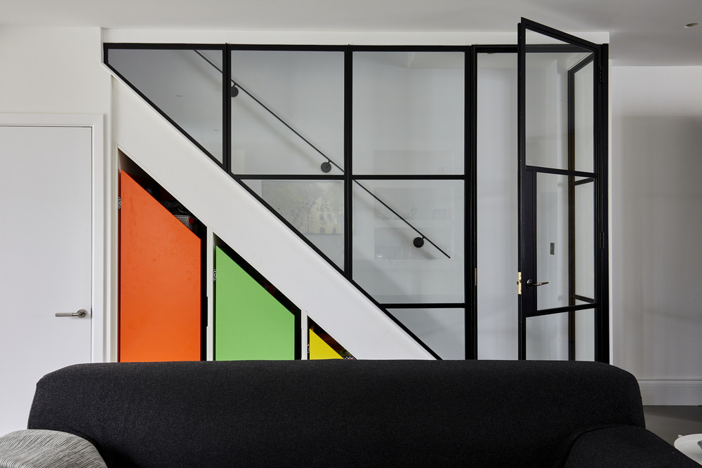 452-Bespoke-furniture-crittall-wall-Greenwich-town-house-with-basement-renovation