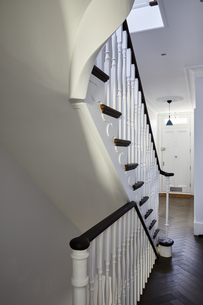 621-Bespoke-staircase-front-door-Greenwich-town-house-with-basement-renovation