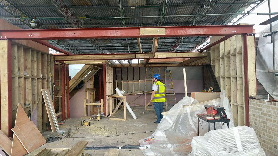 Chiswick Penthouse Refurbishment Roof Conversion Before_HV