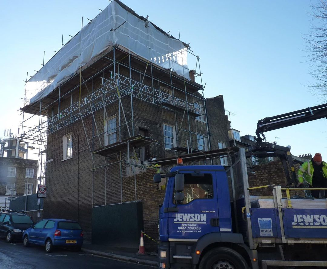 Greenwich House Refurbishment Rear Extension Before
